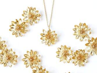 シトリンによるタンポポのネックレス ~Dandelionの画像