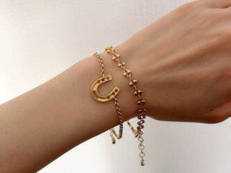 Horse shoe braceletの画像