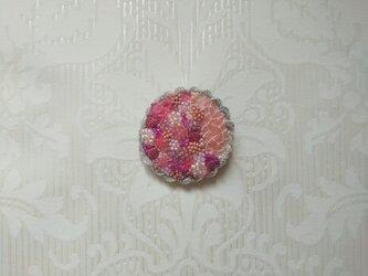 #39  刺繍ブローチ さくら咲くの画像