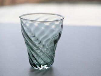 ツイストライングラス(オリーブグリーン)の画像