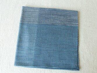 手織り・藍染め 包む布、おおう布 Bの画像