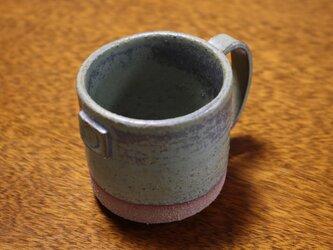 枯草色窯変釉コーヒーカップ#1の画像