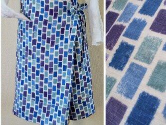 THAIリネン 筒形巻きスカート フレアータイトの画像