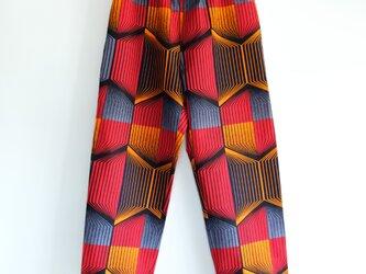 アフリカンワックスプリント パジャマパンツの画像