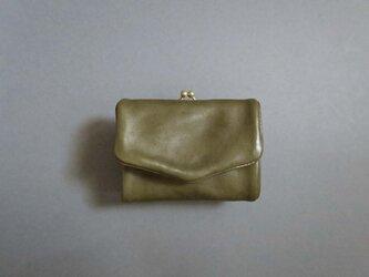 compact gama wallet (khaki green)の画像