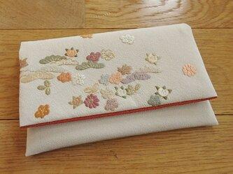 刺繍を楽しむお懐紙入れ(弐)の画像