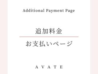 リングサイズ14~19号 追加料金お支払い用ページ(B)の画像