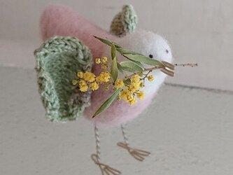 春告げ鳥(桃色)の画像