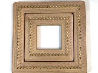 バイアス木枠  タイプ2 織り機  織り木枠  1セットの画像