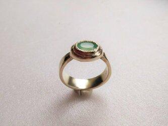 sv925 アクアプレーズのリング  の画像