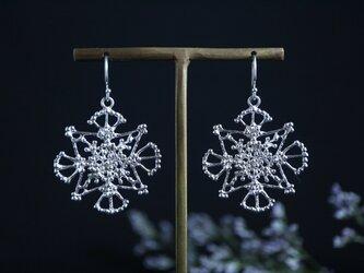 Silver earring 「Illusion」の画像