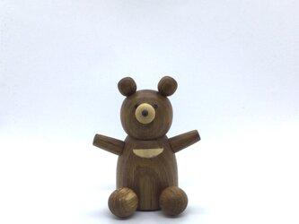 仲良しの熊さん(受注制作)の画像