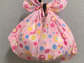 手縫いのあずま袋【鞠】の画像