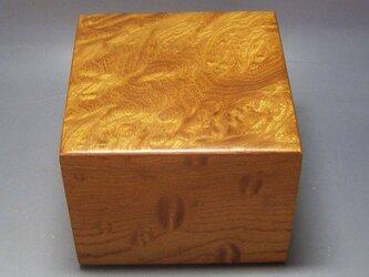 欅玉杢 上杢 駒箱 ガラスコーティング仕上げの画像