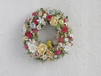 (再販5)Wreath to enjoy springの画像