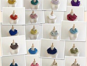 全27色から選べる♡ふわふわ夢心地スヌード♡コンパクトタイプの画像