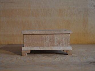 楓玉杢蝶番付き小箱の画像