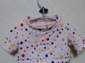 水玉Tシャツ の画像