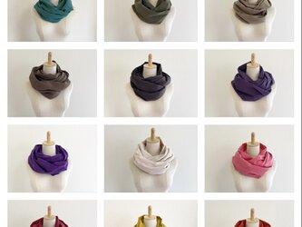 全27色から選べる♡ふわふわ夢心地スヌード♡ロングタイプの画像