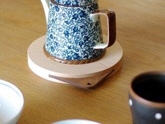 【ringring】鍋敷き/丸型/Lサイズの画像