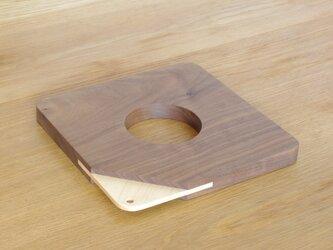 【ringring】鍋敷き/四角/Lの画像