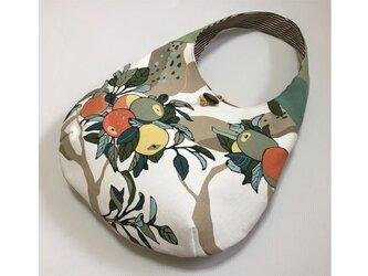 ☆再出品 ワンハンドルバッグ たまご型バッグ りんごの木2の画像
