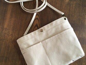 ショルダーストラップ オプション 《バッグインバッグといっしょにご注文ください。》の画像