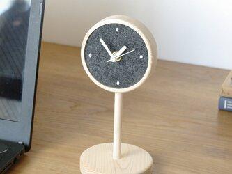 ほっこりする公園の時計台【DESK TOWN】の画像