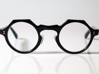 手作りセルロイド眼鏡045-BBの画像