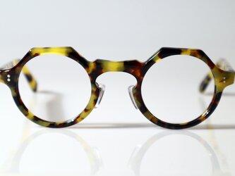 手作りセルロイド眼鏡045-PSPSの画像