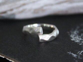 Cotton ring silver925マットリングの画像