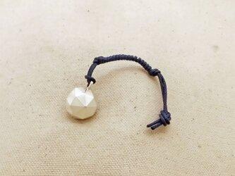 銀製の鈴 『 四十八面体 』 (シルバー925) バッグチャーム・ペンダントトップの画像