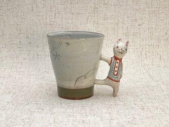 動物マグカップ・うさぎ 10-2の画像
