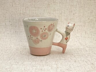 動物マグカップ・うさぎ 10-3の画像
