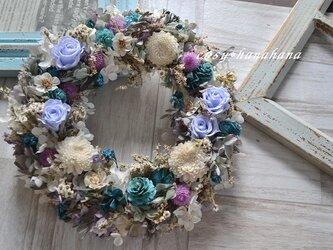 【母の日2021】アースカラーの水面wreathの画像