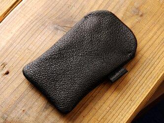 《RUSSETY》レザースリーブケース for iPod touch ブラックの画像