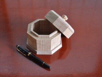 ソフトメープル8角小箱(小)の画像
