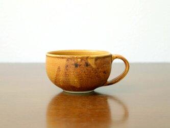 黄瀬戸釉の香ばしスープカップ * 2の画像
