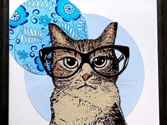 ネコ~メガネ~の画像
