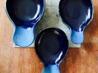 夜の青 とんすい鉢 中の画像