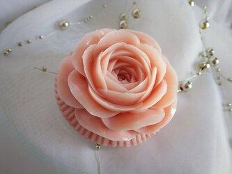 バラのプチギフト~10個セット。ソープカービング/石鹸彫刻の画像