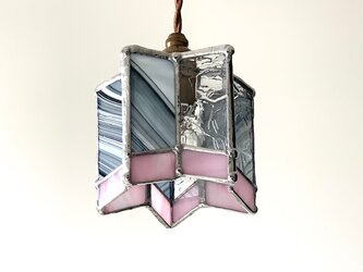 『Twinkle night』星型ランプ 桜色&薄墨色 BayView の画像