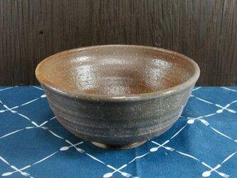 陶器 お茶漬け茶碗 自然釉風【210306】の画像