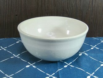 陶器 にゅうめんどんぶり 白【210304】の画像
