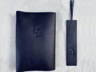[ペンギン] ブックカバー(L)の画像