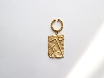 Geoglyph ear cuff【片耳】の画像