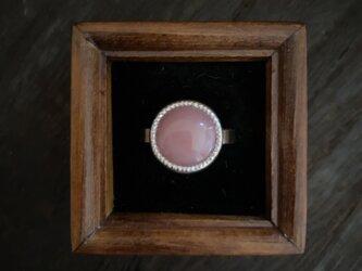 ピンクオパールのRingの画像