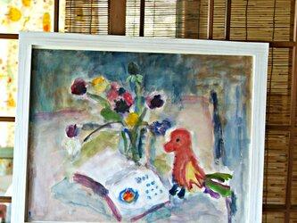 鳥と花 (額無し)の画像