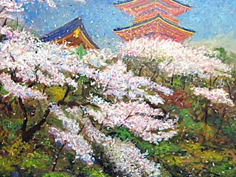 花吹雪の画像