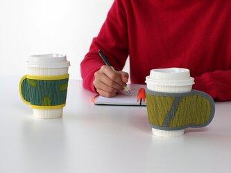 OTO い草:カップスリーブ(天然素材 消臭 抗菌 保温 調湿)紙コップ ホットコーヒーの画像